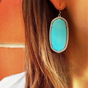 Kendra Scott Danielle Earrings - Turquoise